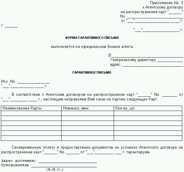 Образец письма о назначении деловой встречи