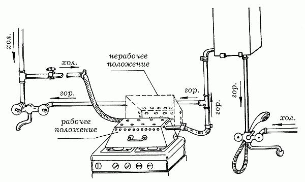Самодельный проточный водонагреватель электрический своими руками