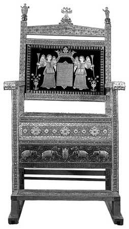 История трона царя Соломона