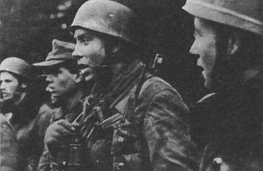25 истребительный батальон: