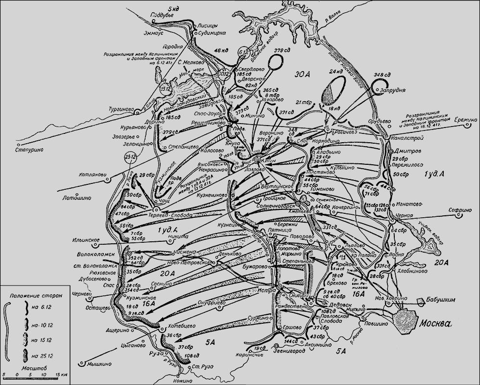 Московская операция Западного