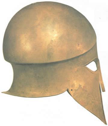 украшавших шлем насечках.