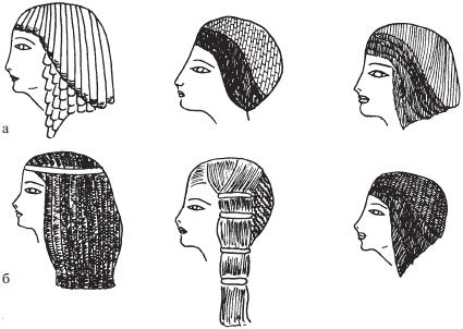 фото древнего египта прически
