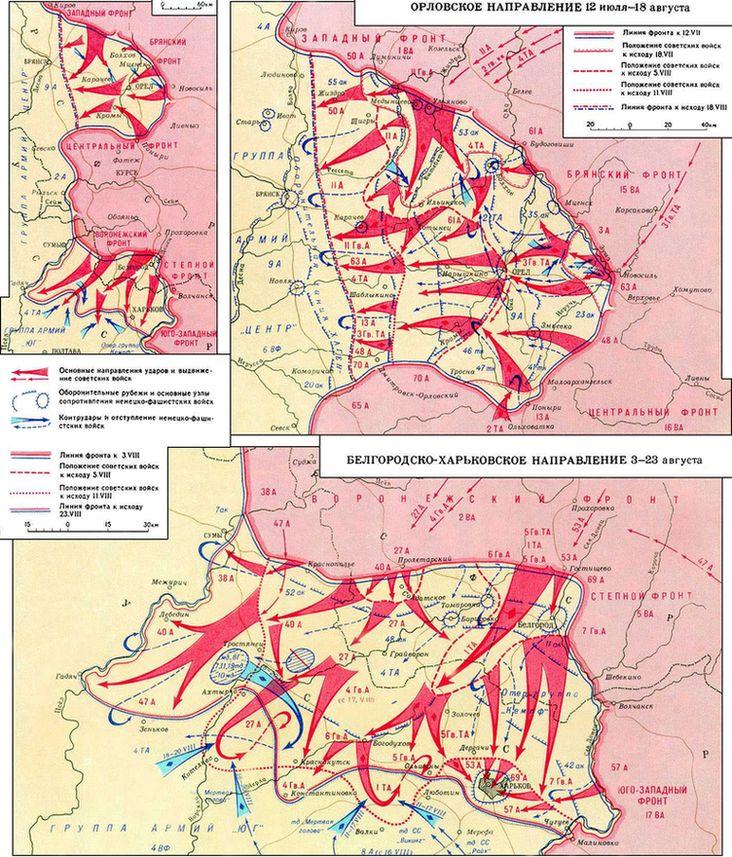 Советских войск июль — август 1943 г