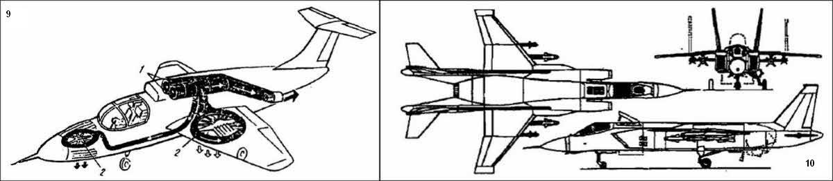 Компоновочная схема самолета