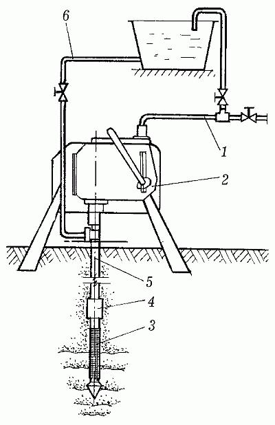 Схема насоса БКФ-4 на