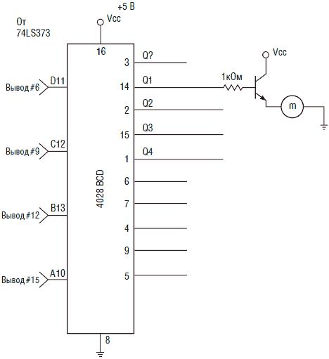 Схема интерфейса переделанной