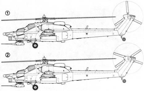 Первый опытный образец Ми-28