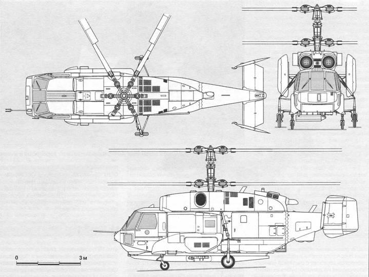КОРАБЕЛЬНЫЙ ВЕРТОЛЁТ РЛДН Ка-31 / Отечественные самолёты и ...