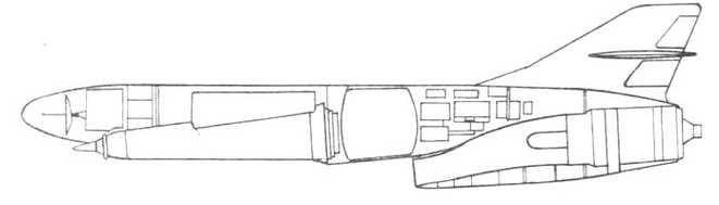 Компоновочная схема ракеты КМ-