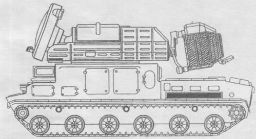 9КЗ30 (Тор-М1) и ее схема