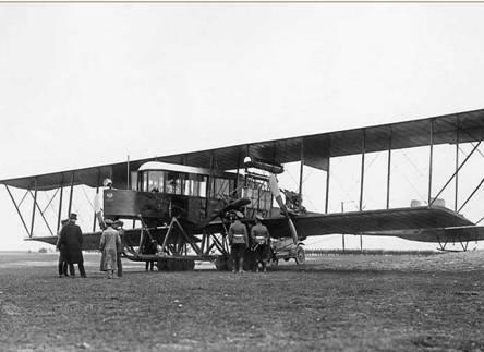 Первый в мире четырехмоторный самолет