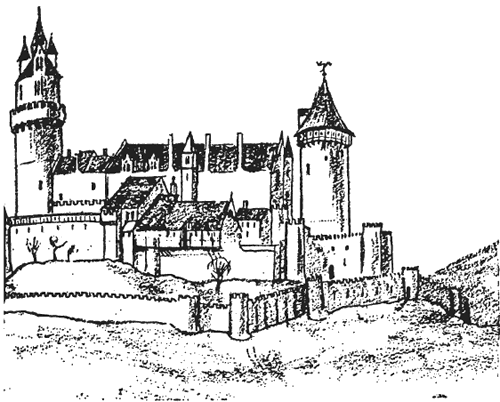 а замки были средоточием