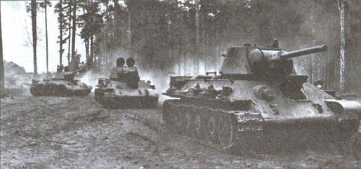 Калининский фронт август 1943 года