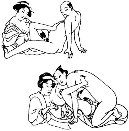 Половой член достает до матки 5